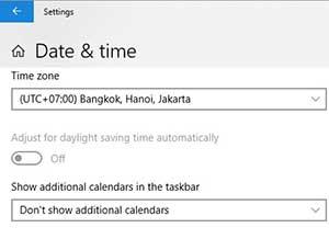 setting tanggal dan waktu pada komputer