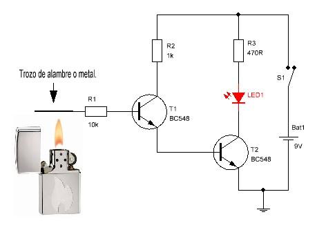 Simple Metal Detector Circuit Simple Electric Circuit