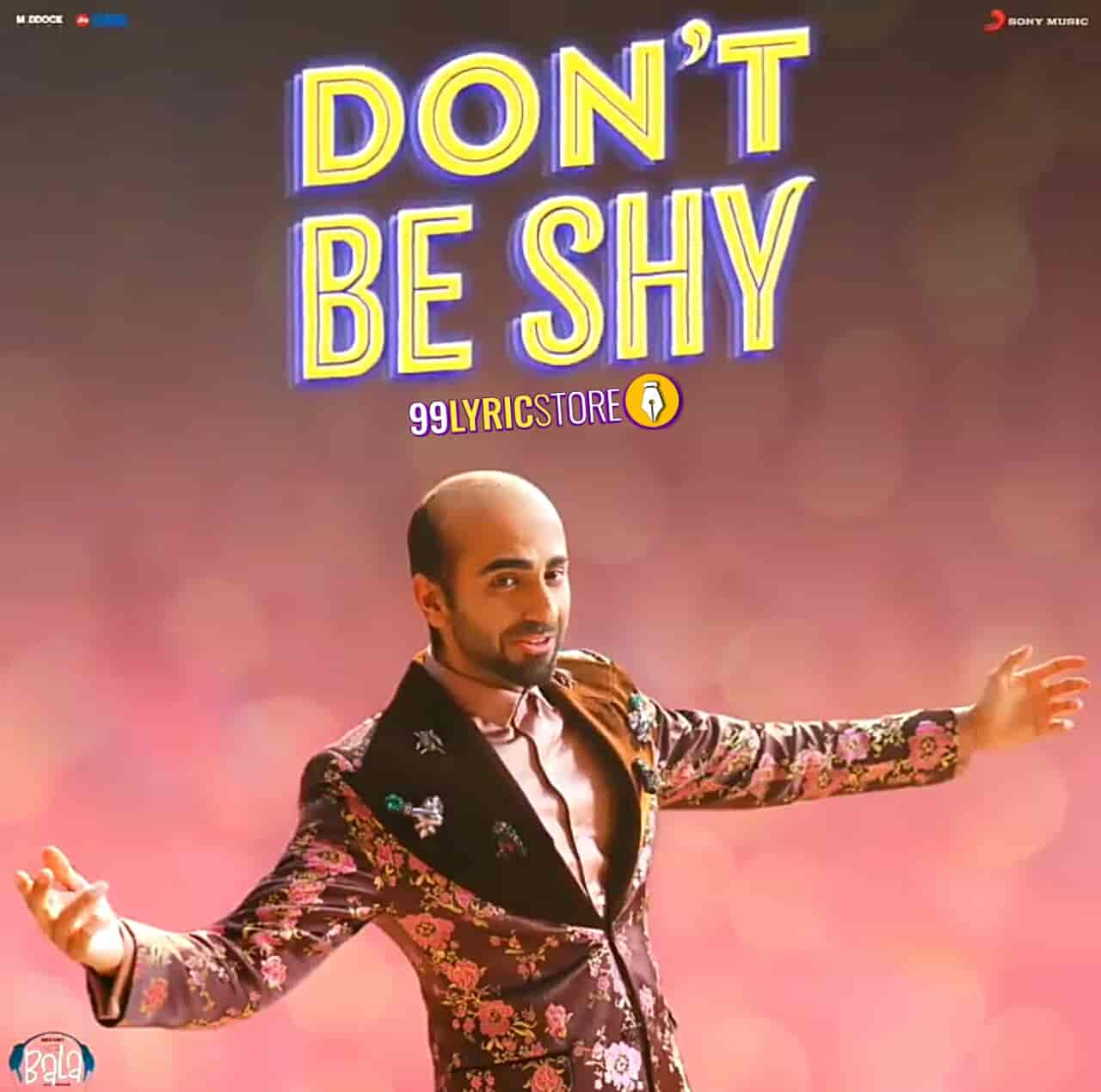 Don't Be Shy Song images from movie Bala