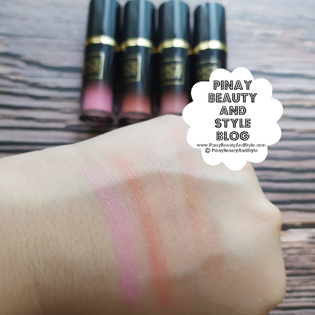 sace lady color muse liquid blush swatches review