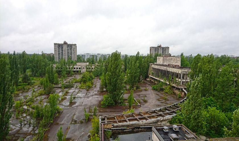 Сучасна панорама Прип'яті
