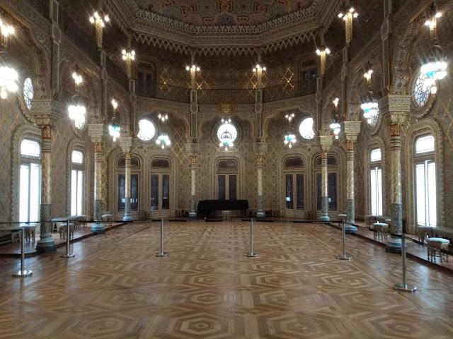 Sala principal Bolsa de Oporto
