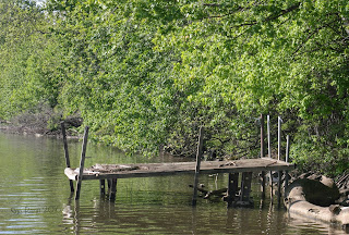 dock on the Susquehanna, Blue Rock Road