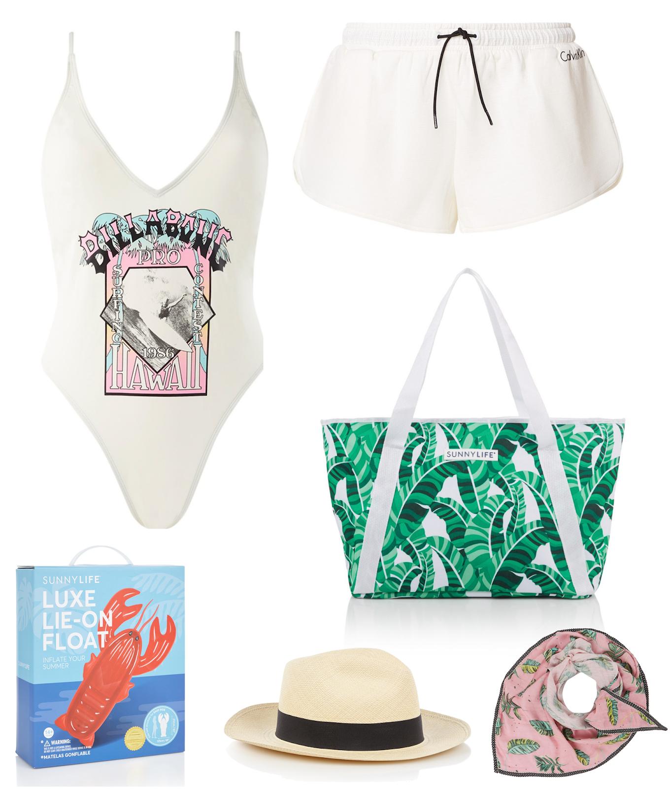 Twee outfits voor op 't strand | De Bijenkorf