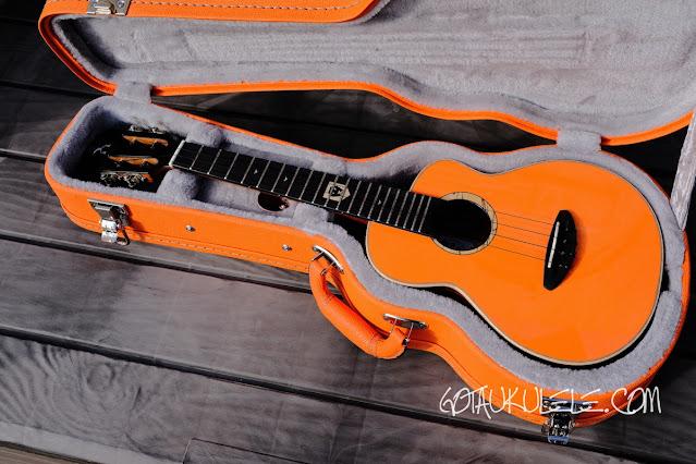 aNueNue Lion Orange UT Ukulele hard case