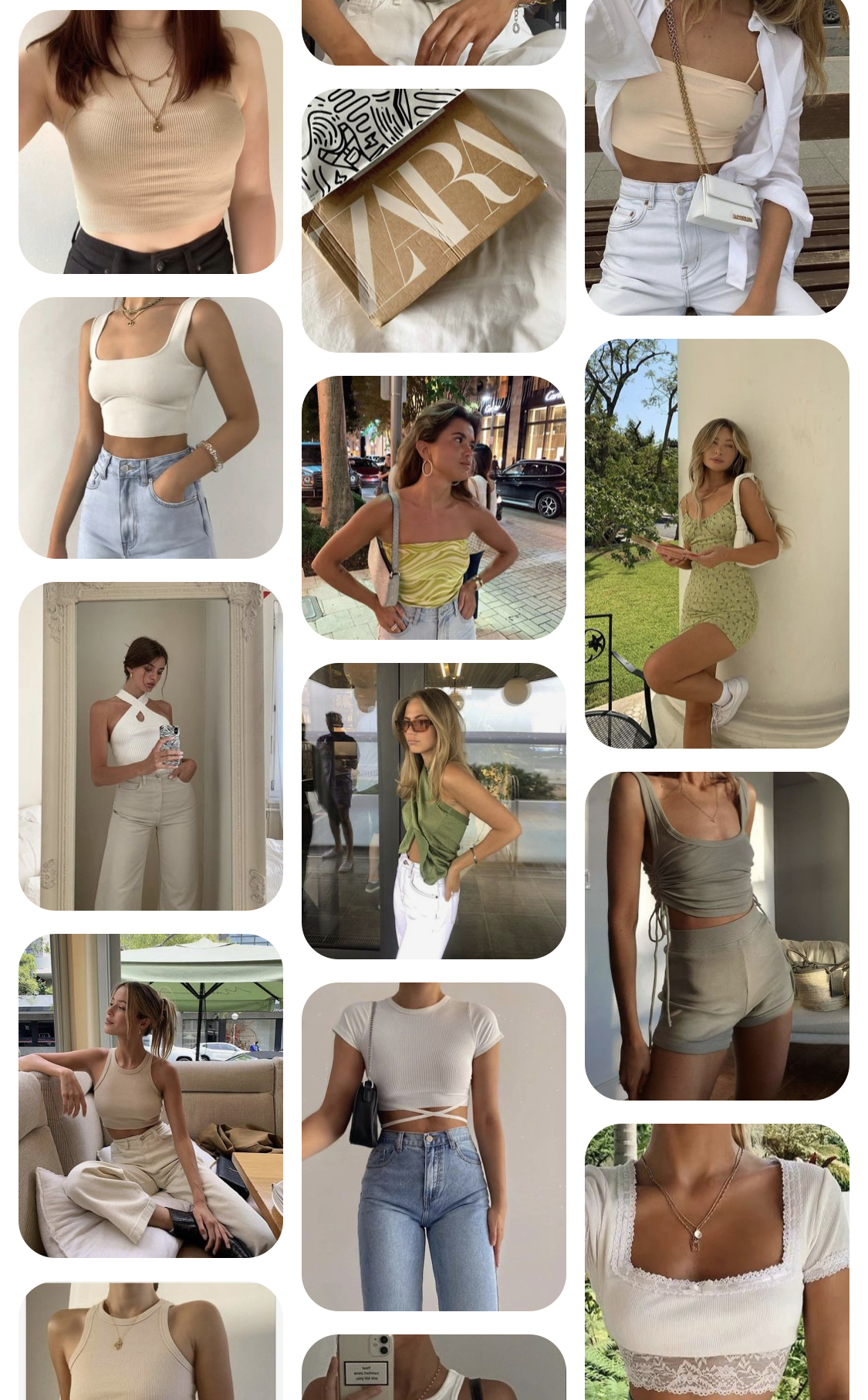 DreamwithJessie Pinterest Spring Fashion 2021 Board