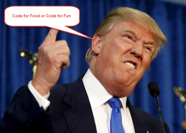 Code for Food or Code for Fun