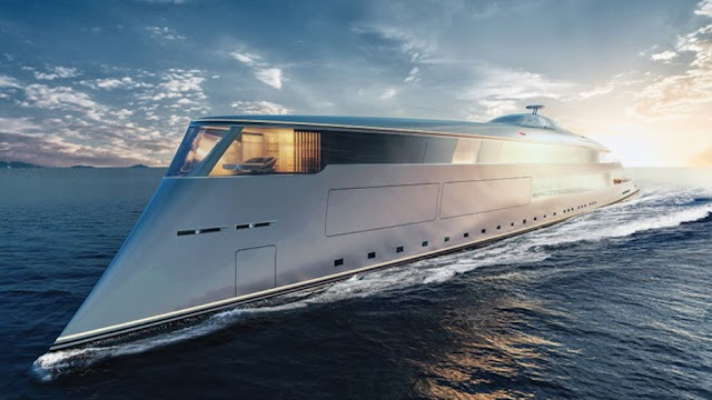 The world's first hydrogen-powered super-yacht
