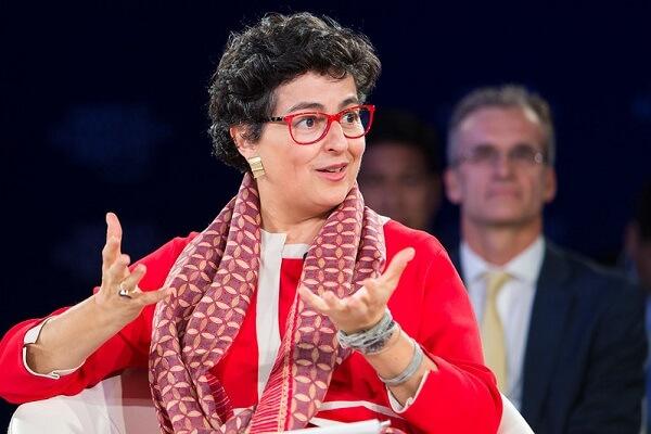 وزيرة الخارجية الاسبانية ماريا أرنتساتسو أرانتشا غونزاليس لايا