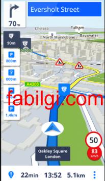İnternetsiz Çalışan Navigasyon GPS Uygulaması İndir Sygic 2021