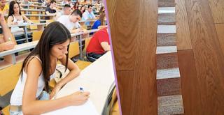 Φοιτήτρια έκανε σκονάκι κοντά στα 2 μέτρα κι ο καθηγήτης την πέρασε για τον κόπο της!