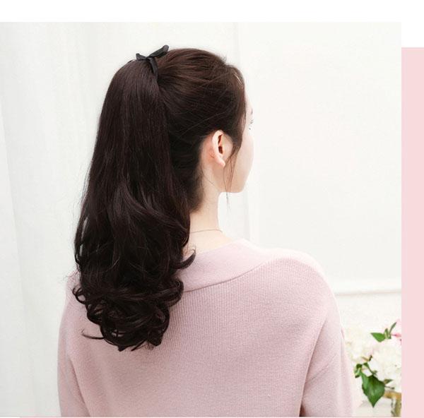 tóc côt giả bằng tóc thât