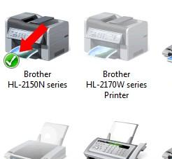 fix brother printer offline or paused