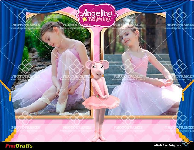 Bonito portaretrato digital de Angelina Ballerina