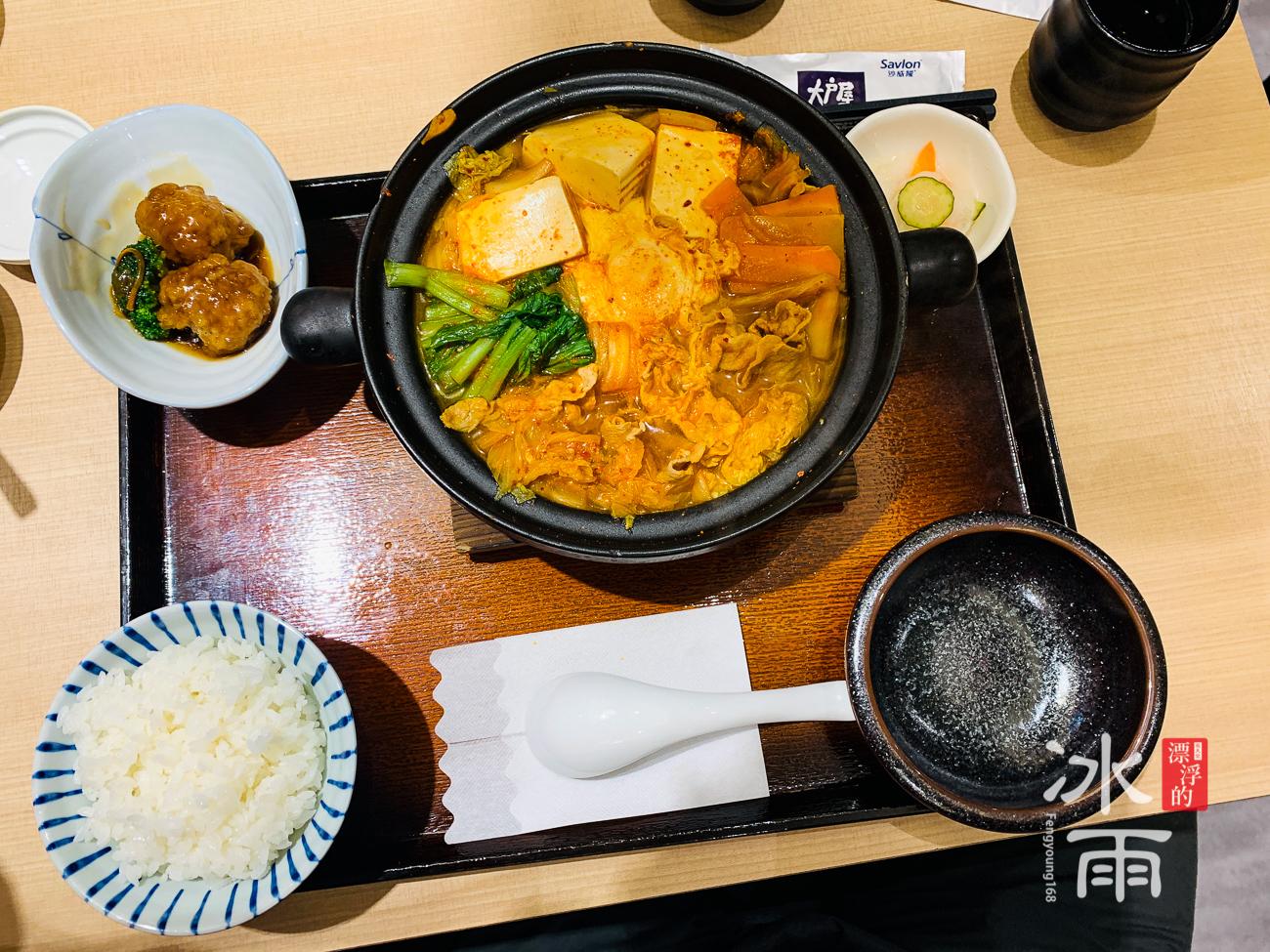 蘆洲家樂福大戶屋|泡菜鍋
