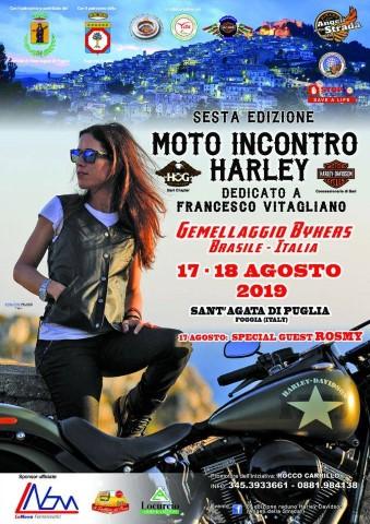 Sant'Agata di Puglia: [VIDEO] sesta edizione del raduno Harley Davidson