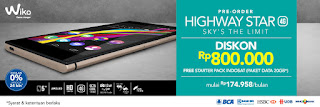 Promo Wiko Highway Star 4G