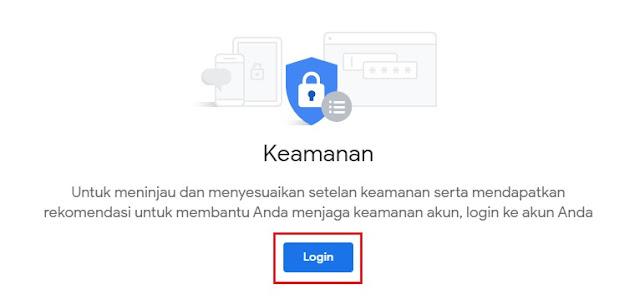 tombol login yg muncul jika belum login sebelumnya