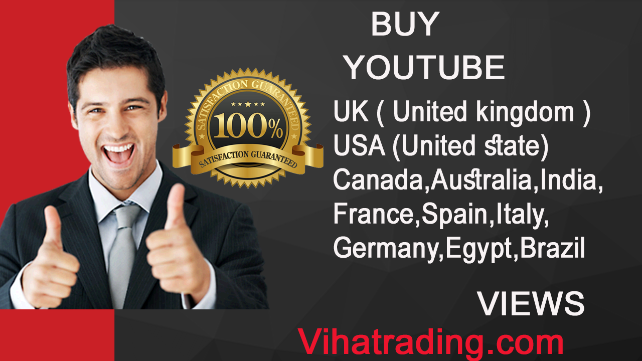Buy USA,UK, UK,Canada,Australia Views