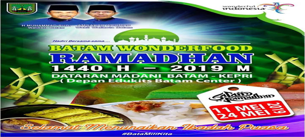 WONDERFOOD RAMADHAN, 11 - 24 MEI 2019