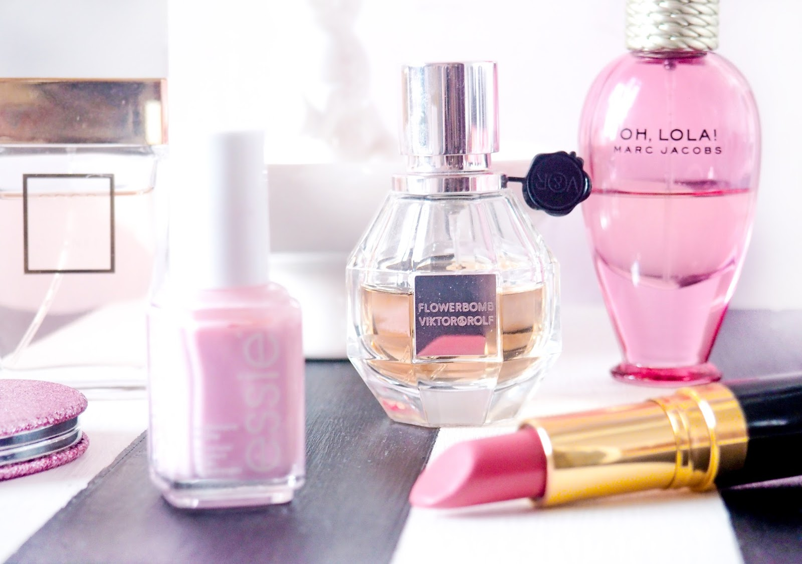 Pretty Pink Beauty Perfume Valentines