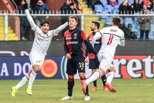مشاهدة ملخص اهداف مباراة جنوى وميلان (2-2) في الدوري الإيطالي