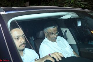 Bollywood Celebrities paying their last respect at  of Krishnaraj Rai, father of Aishwarya Rai Bachchan