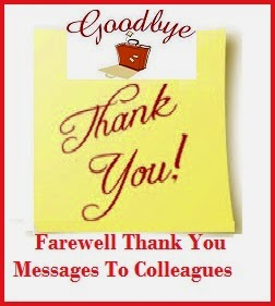 Thank You Messages! : Farewell