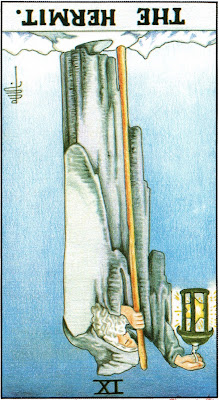 The Hermit Reversed Tarot Card Meaning- Major Arcana