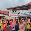 Program Pro Rakyat dan Unggul di Debat, 120 Srikandi Paling Serumpun Makin Yakin Pilih dan Menangkan Fikar - Yos