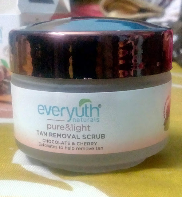 Everyuth tan removal scrub