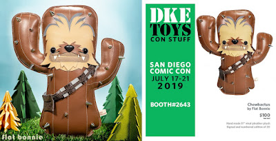 San Diego Comic-Con 2019 Exclusive Chewbactus Star Wars Plush by Flat Bonnie x DKE Toys