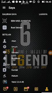 Tema BBM MOD Legend v3.3.4.48 Apk1