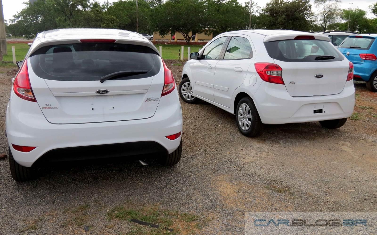 New Fiesta Se X Novo Ford Ka