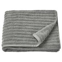 Image of a bath towel used for exercising