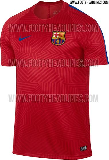 Camiseta prepartido del FC Barcelona 2016 17 - La Jugada Financiera 6c2fd3c757a