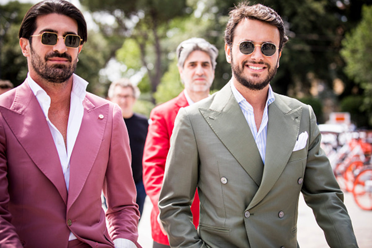 414130e44aff5 A little piece of magenta: Moda we włoskim stylu