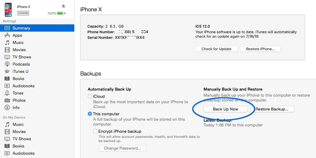 كيفية عمل نسخة احتياطية لجهات الاتصال الخاصة بك Iphone