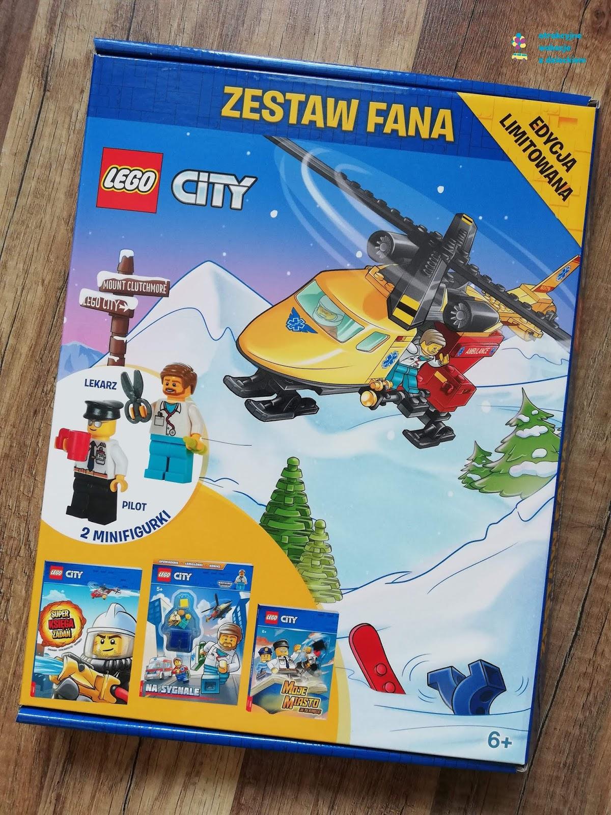 LEGO City lekarz i LEGO City fryzjer