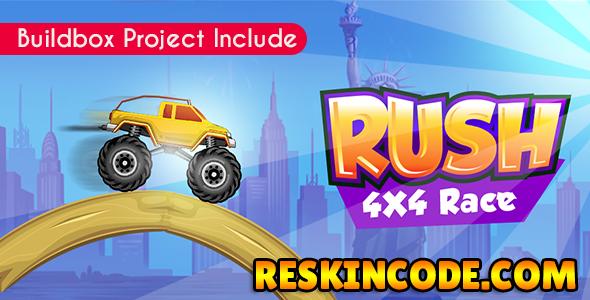 Rush 4x4 Race Android Admob Codecanyon