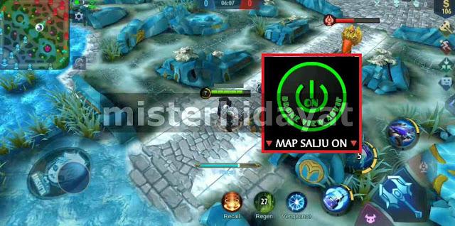 APK Mod Drone View MLBB 2.0 + Map Salju Patch Wanwan