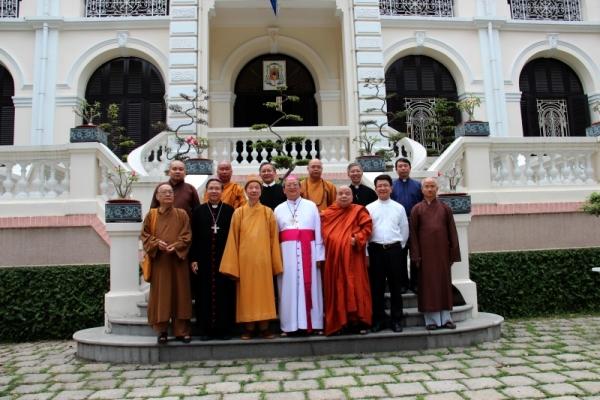 Thành hội Phật giáo chúc mừng Giáng sinh tới tổng giáo phận Sài gòn - Ảnh minh hoạ 11
