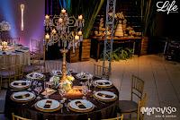 casamento realizado em canoas por life eventos especiais com decoração simples em estilo rústico e cerimônia na capela são josé lasalle e festa no qoppa restaurante