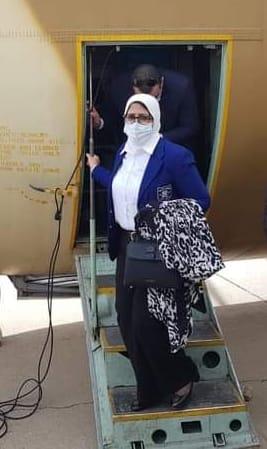وزيرة الصحة تصل إلى بيروت لدعم القطاع الصحي بلبنان