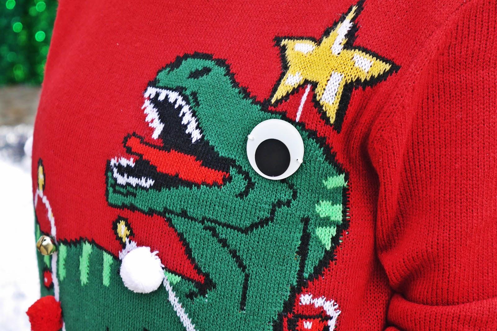 1_sweterek_swiateczny_dinozaur_h&m_spodnica_tiulowa_czerwone_szpilki_karyn_blog_modowy_181217d