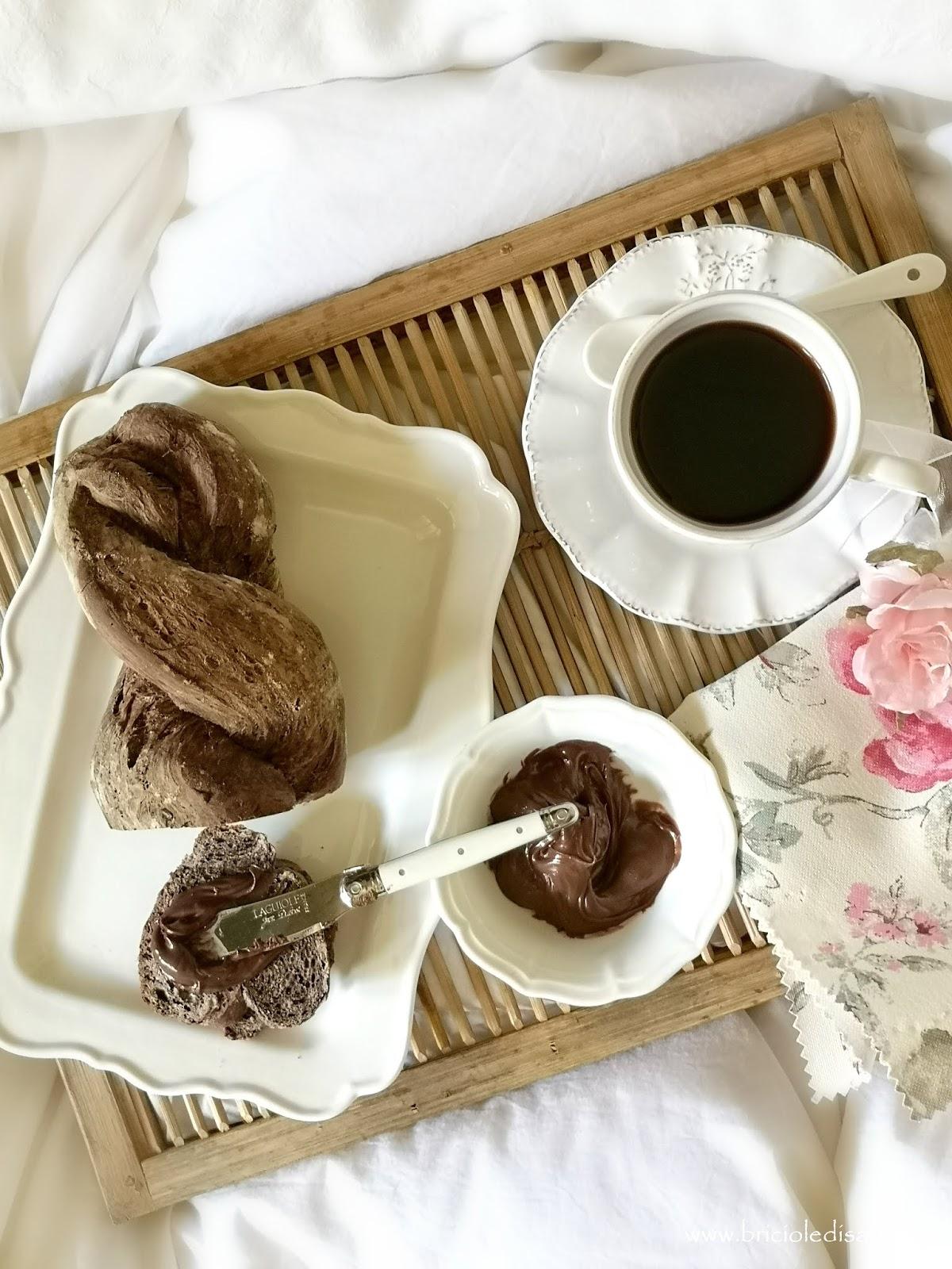 ricetta facile del pane al cacao