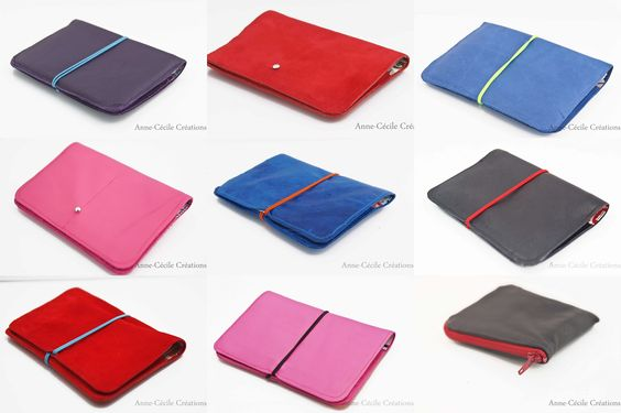 color leather wallets