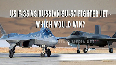 US F-35 vs Russian Su-57 Fighter Jet - Which Would Win
