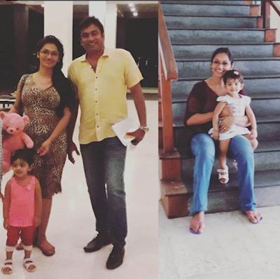 Upeksha Swarnamali Family