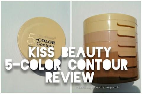 Kiss Beauty 5-Color Contour REVIEW